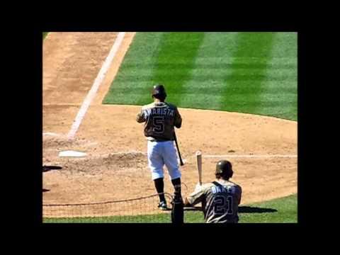 San Diego Padres Alexi Amarista Batting