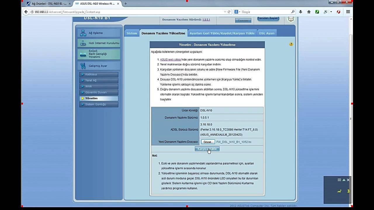 Asus rt-n10 b1 | dslreports, isp information.