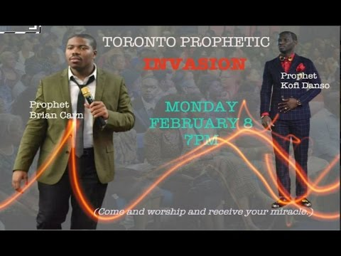 Prophets Carn & Danso 2-8 Worshipping Prophesying Deliverance Toronto