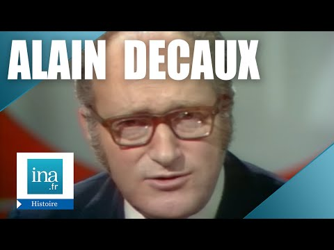 Alain Decaux Raconte : La Fin De Trotsky   Archive INA