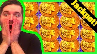 THE MOST AMAZING HERCULES JACKPOT ON YOUTUBE! Golden Buffalo Slot Machine Winning W/ SDguy1234