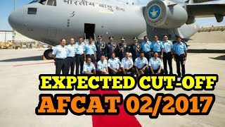 Expected Cut-Off for AFCAT 02/2017