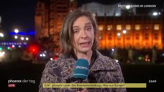 Diana Zimmermann aus London zur Lage nach Ablehnung des Brexit-Deals am 16.01.19