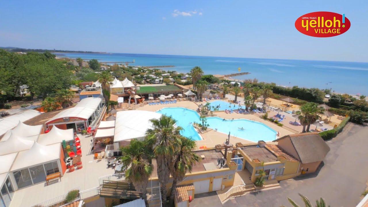 Camping yelloh village le club farret vias plage cap d for Camping en languedoc roussillon avec piscine