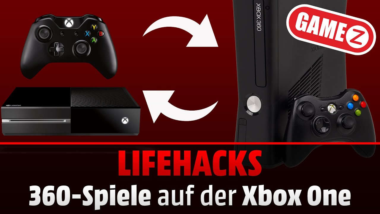 so gehts 360 spiele auf der xbox one lifehacks youtube. Black Bedroom Furniture Sets. Home Design Ideas
