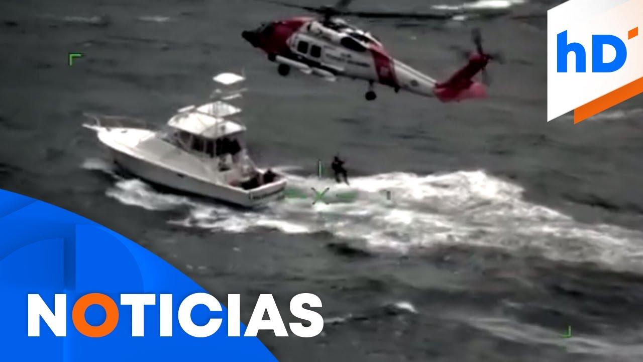 Guardia Costera rescata a siete personas en una marejada   hoyDía   Telemundo