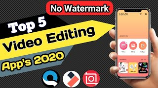 Top 5 Professional Video Editing Apps For Android   Top 5 Best Video Editing Apps In 2020   [Top 5]