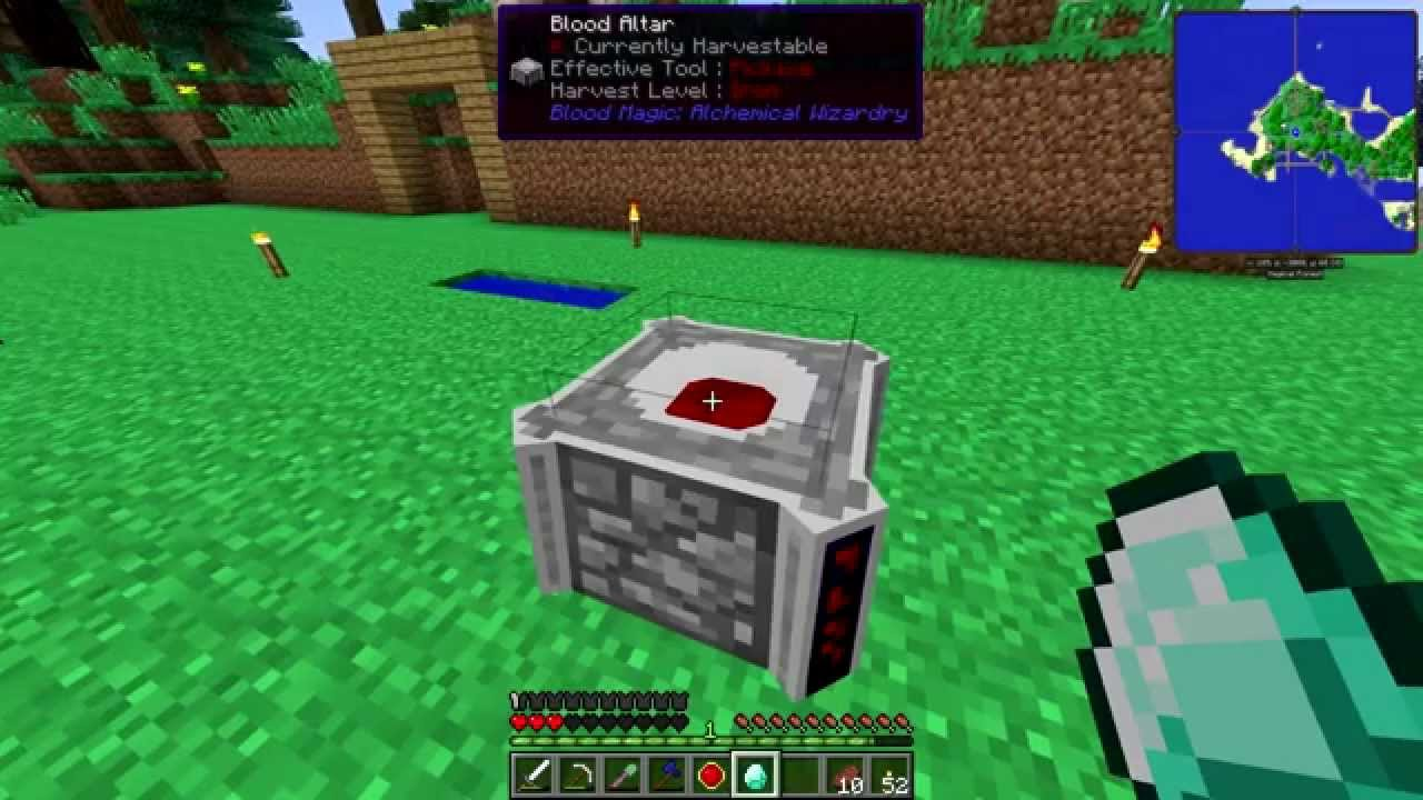 blood magic blood altar