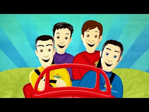 The Wiggles Game Videos -  Big Red Car Coloring  Wake Up Jeff Games