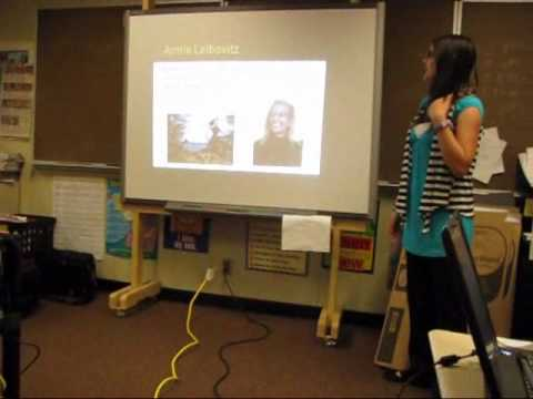 Nicole's '' Senior Project '' Presentation