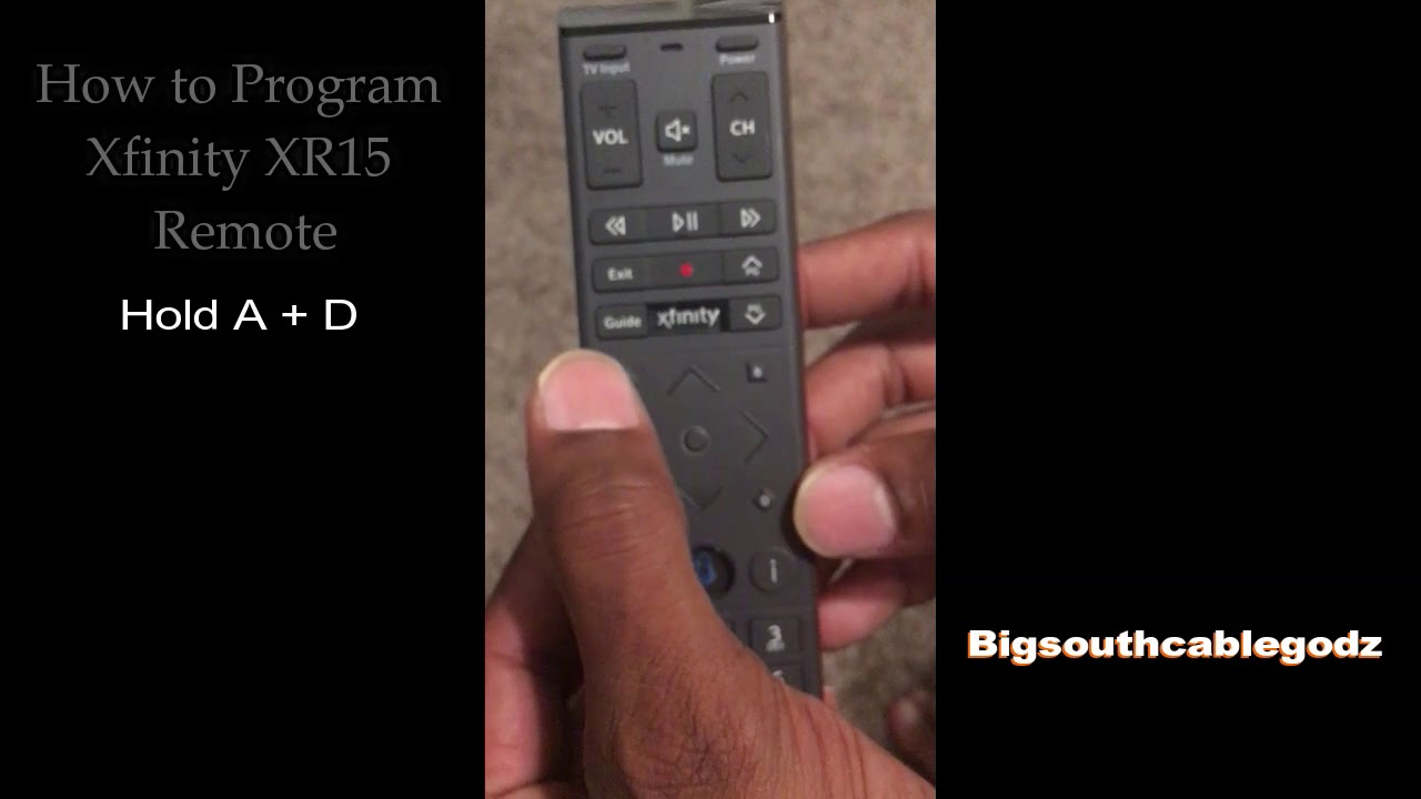 How to RE-program Xfinity Remote to cable box/THE RESET