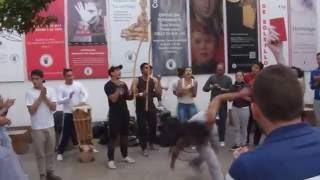 Kolumbien - Straßenmusik in Bogotá
