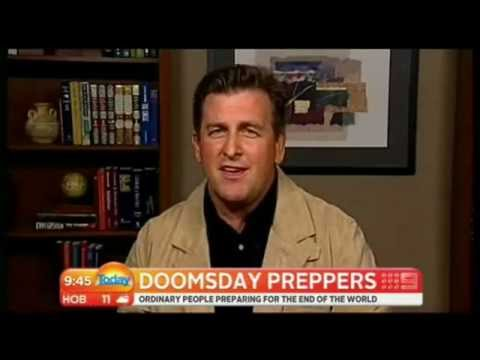 Tim Ralston of National Geographic 's Doomsday Preppers - TODAY SHOW, AUSTRALIA 2012