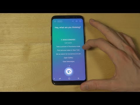 Samsung Galaxy S8 Bixby Voice Assistant Review! It