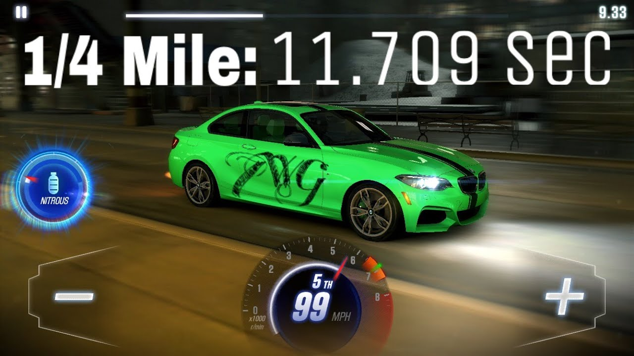 csr racing 2 tune t2 bmw m235i coupe 1 4 mile youtube. Black Bedroom Furniture Sets. Home Design Ideas