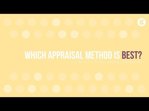 Which Appraisal Method
