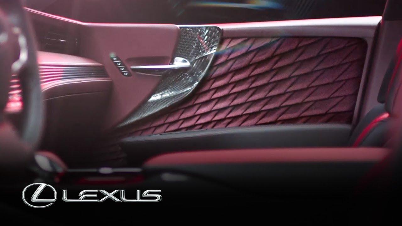 2018 Lexus LS | Stories of Brave Design – Chapter 2 ...