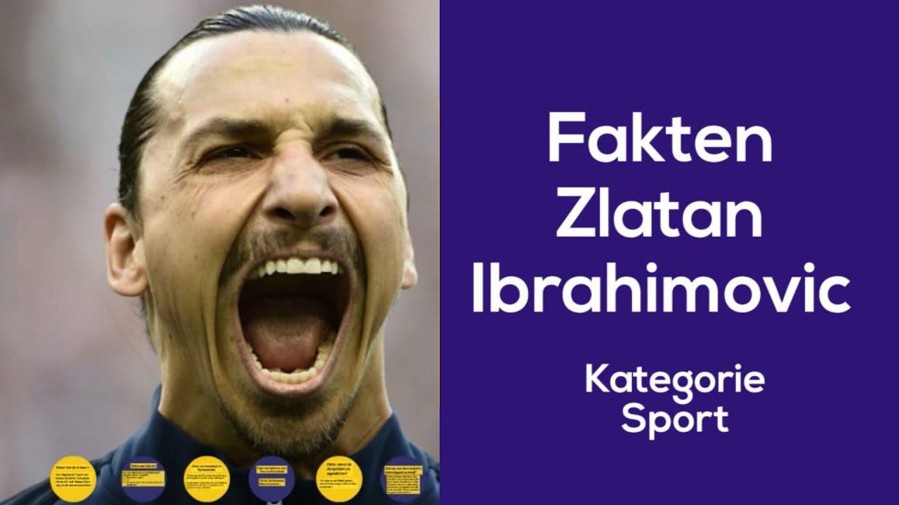 10 Fakten aus dem Mund von Zlatan Ibrahimovic - YouTube