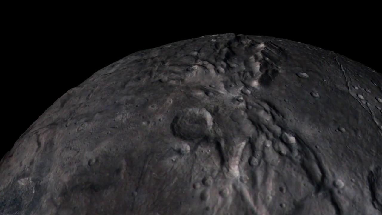 Charon Moon: Charon Flyover From New Horizons