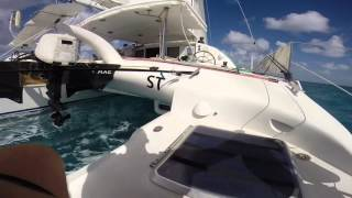 Outremer 55 Test Sail 1