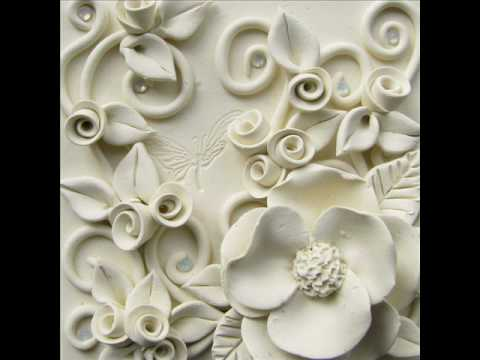 Li 39 l art framed sculpture by subtle details youtube for Clay mural tutorial