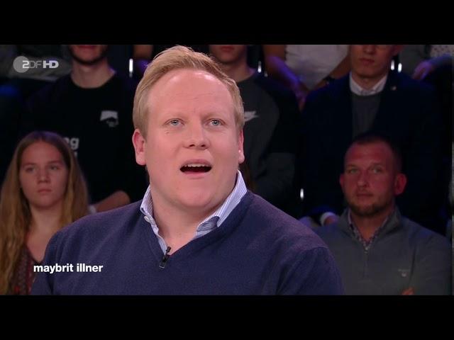 2019 11 07 Maybrit Illner Kevin Kühnert über die Bemessungen von Sozialgelder