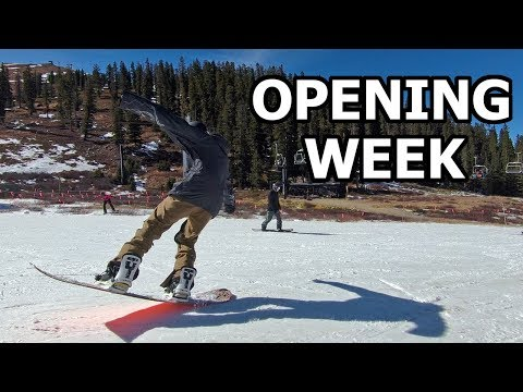 Colorado Snowboard Season Opening Week - Arapahoe Basin 2017/2018