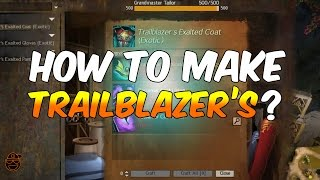 Guild Wars 2 Guides: How to Make Trailblazer's Items? | Gw2