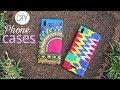 DIY Fabric PHONE CASES ♥African Print ♥Ankara!