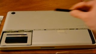 How to Install an SSD Hard Drive on Late 2008 Apple Macbook