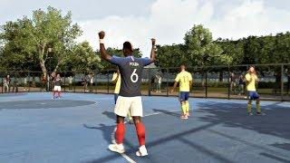 FIFA 20 Gameplay - Volta Football 4v4 Rush - France vs Sweden @ Paris  – FIFA 20 PS4