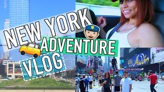 NEW YORK ADVENTURE VLOG | SIMPLYNESSA15 |