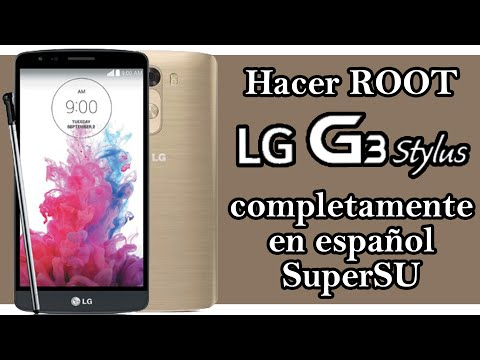 ROOT LG G3 Stylus - Sin PC / SuperSU en Español