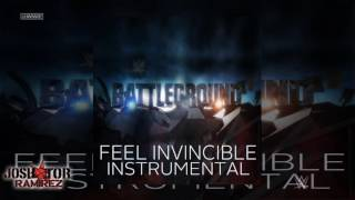 WWE: Feel Invincible (Battleground 2016 Instrumental-Karaoke) - DL with CustomCover