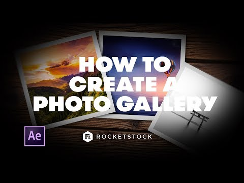 How to Create a Digital Photo Gallery in After Effects | RocketStock
