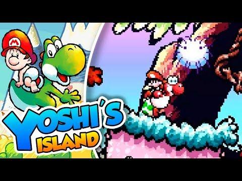 ¡Yoshi está borracho! - #02 - Yoshi's Island (SNES mini) DSimphony