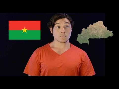 Geography Now! Burkina Faso