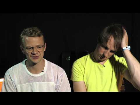 Django Django interview at Lowlands with Jimmy & Tommy