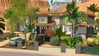 The sims 3 - House Building - Beachside Oasis