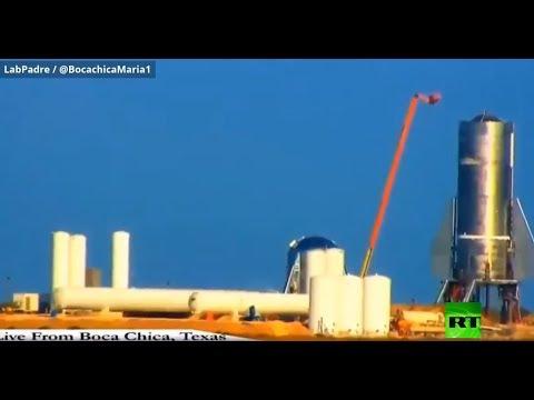 لحظة انفجار صاروخ لـ سبيس إكس الأمريكية  - نشر قبل 3 ساعة
