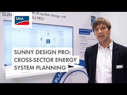 Sunny Design Pro: Cross-Sector Energy System Planning