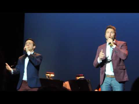 David Archuleta and Nathan Pacheco- The Prayer 11/28/16 Indianapolis