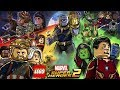 LEGO Marvel Super Heroes 2 - Todos os Personagens [ PARTE 1 ] Caraca Games