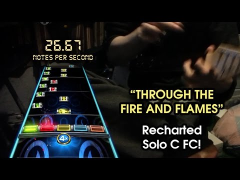 """""""Through the Fire and Flames"""" (RB4 Version) - Gtr Solo C FC!!! (Expert Guitar) 