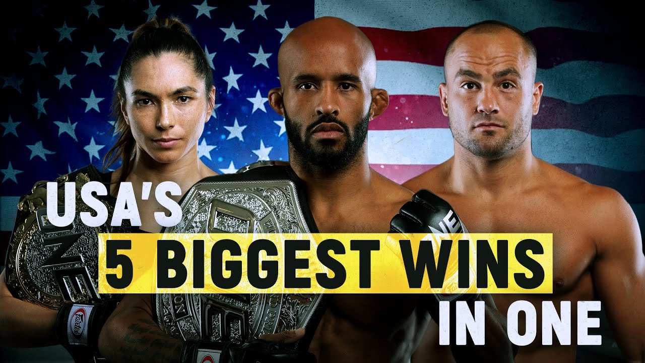 USA's 5 Biggest Wins In ONE Championship