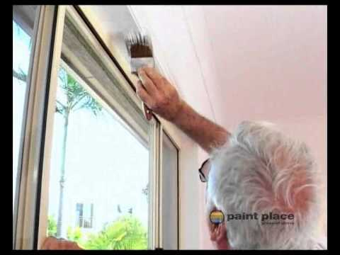 How to Repaint an Interior Sill and Frame - YouTube