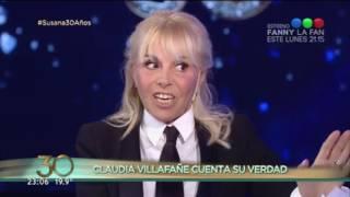 Video: Claudia Villafañe habló de todo con Susana Giménez. ¿Qué fue lo que más le dolió de Maradona?