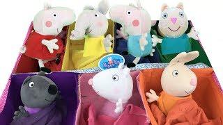 Peppa pig y amigos: pepa aprende los colores con regalo sorpresa en escuela.Nuevo video educativo
