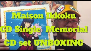 History Of Fan Anime 46 Maison Ikkoku CD Single Memorial File UnBoxing