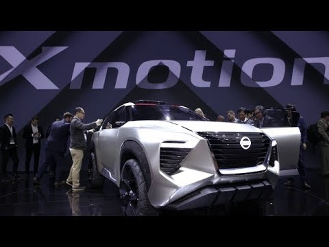 Nissan Xmotion concept highlights at the 2018 North American International Auto Show
